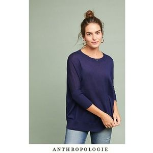 Anthropologie Pullover Wool Sweaters Tunic Top